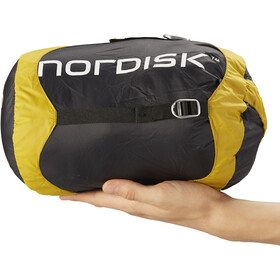 Nordisk Oscar -10° Sacco a pelo L, mustard yellow/black